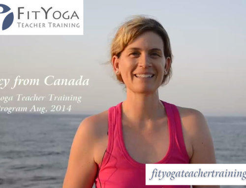 Tracy, FitYoga Teacher Training Testimonial