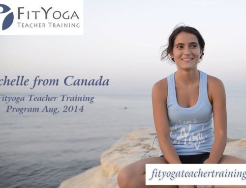 Michelle, FitYoga Teacher Training Testimonial