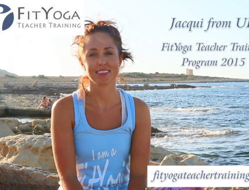 Jacqui, FitYoga Teacher Training Testimonial