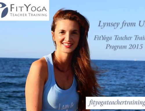 Lynsey, FitYoga Teacher Training Testimonial